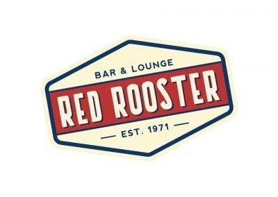 red rooster logo design