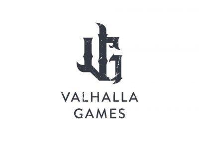 valhalla games logo design